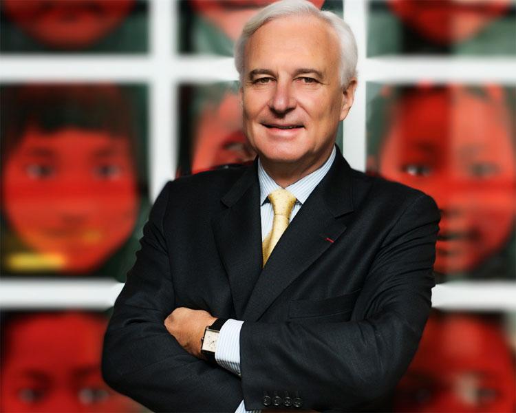 Bernard Fornas, codirecteur du groupe Richemont