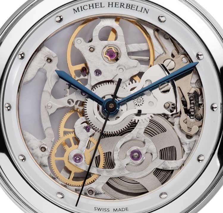 Michel Herbelin Newport Yacht Club Squelette Dame : série limitée 100 ex.