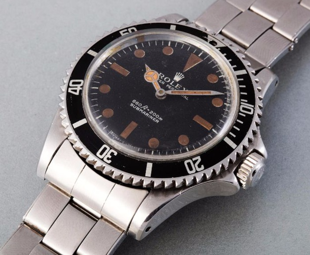 Rolex : 335.000 euros pour la Submariner de James Bond