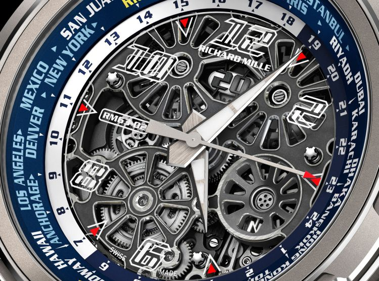 Richard Mille RM 63-02 Heure universelle