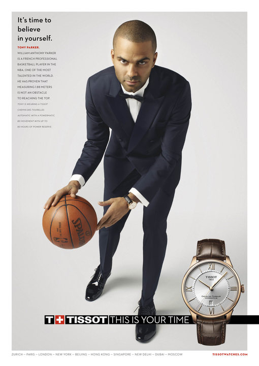 Tissot : Time is your Time