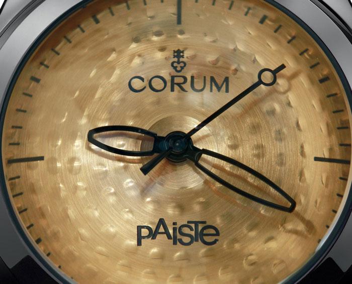 Corum Bubble Paiste : une montre qui devrait faire du bruit !