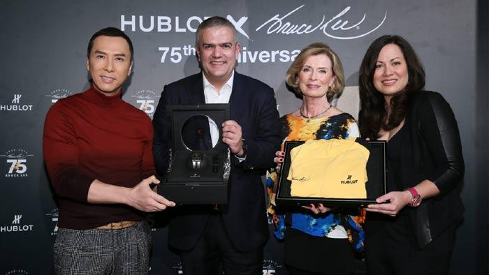 Hublot : une série limitée pour les 75 ans de Bruce Lee