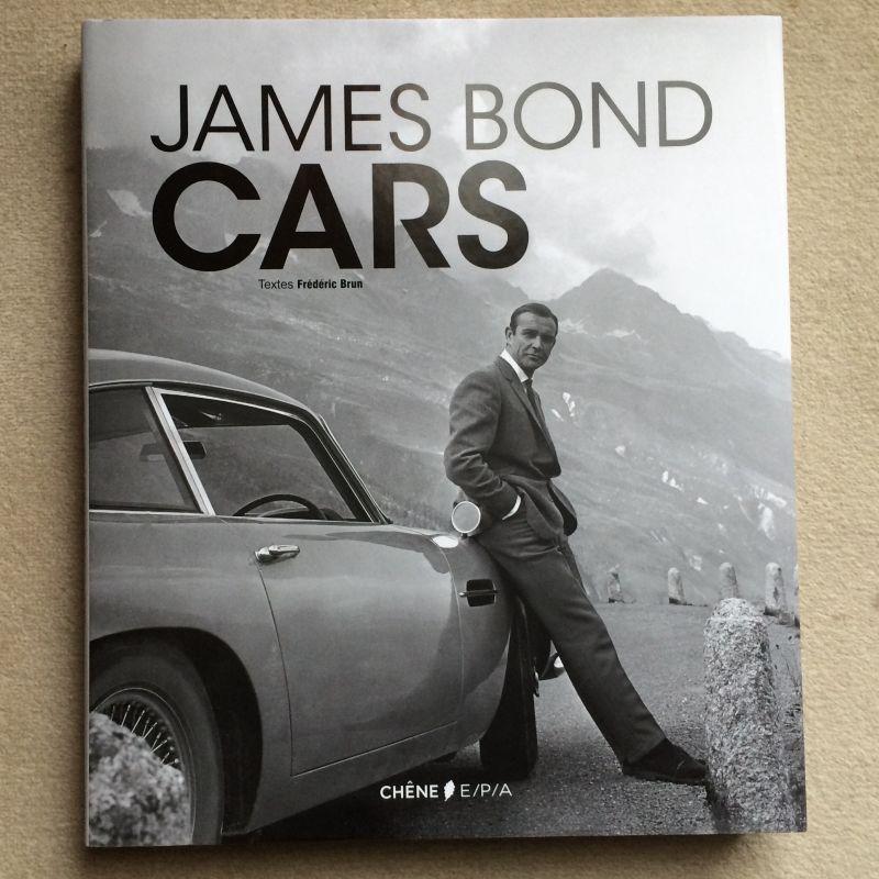 James Bond Cars de Frédéric Brun