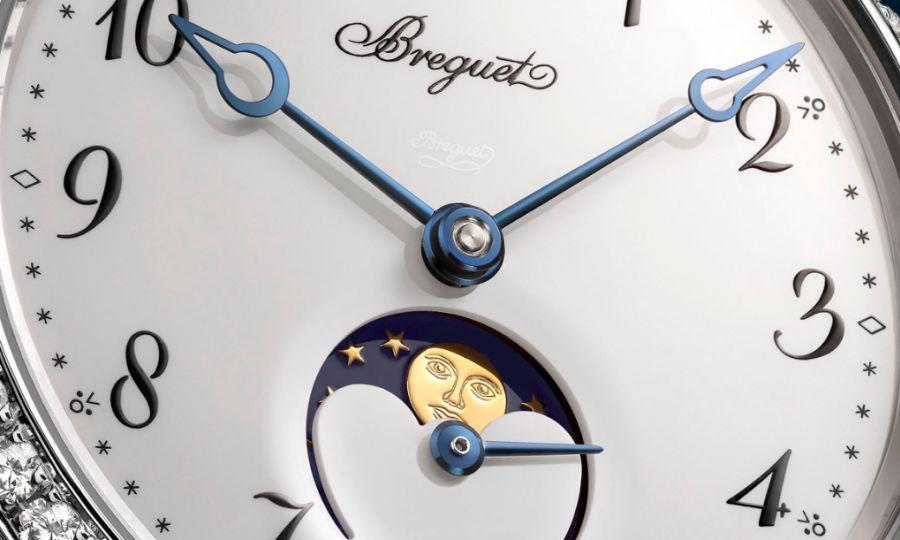 Breguet : une nouvelle Classique Phase de lune pour dames