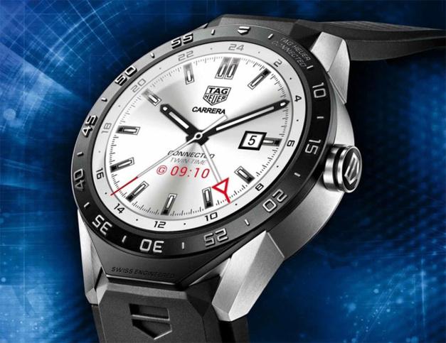 TAG Heuer voudrait fabriquer sa montre connectée en Suisse