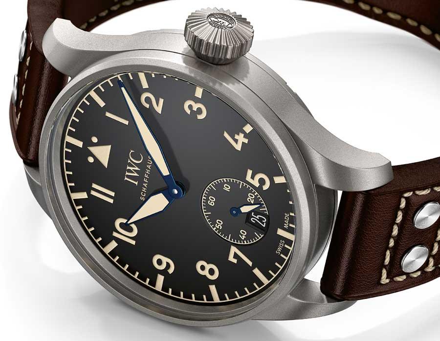 IWC Grande Montre d'Aviateur Heritage 48 : vintage et contemporaine
