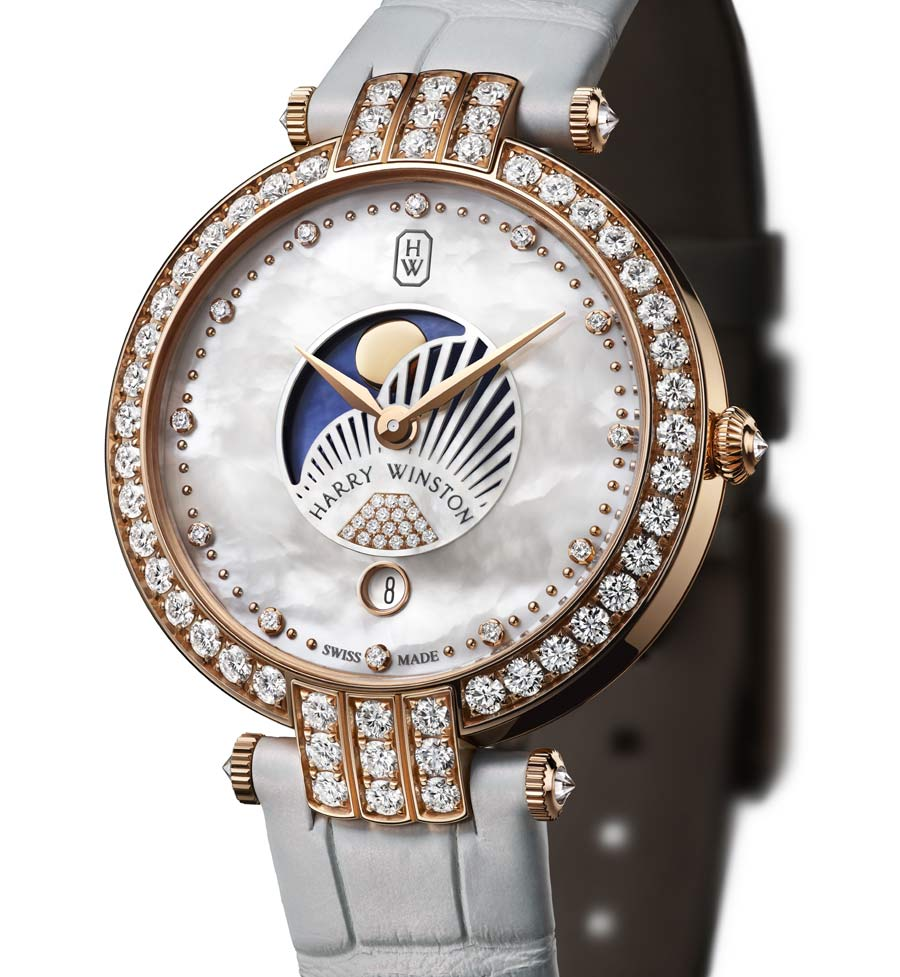 Harry Winston Premier Moon Phase 36 mm