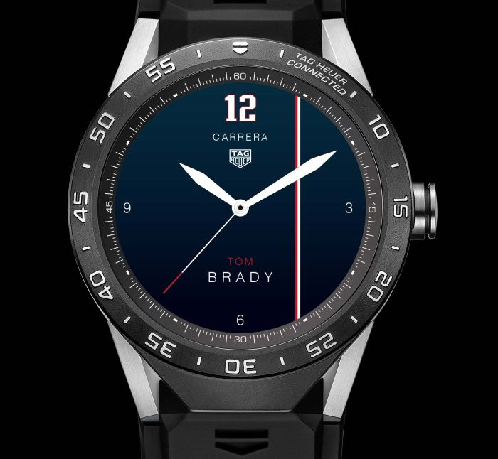 watch face Tom Brady