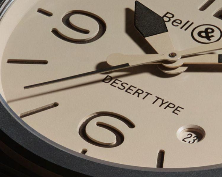 Bell&Ross BR Desert type : entre reg et erg