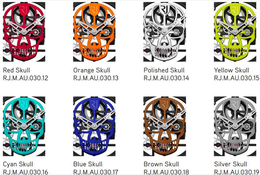RJ-Romain Jerome Skylab 48 Speed Metal Skull