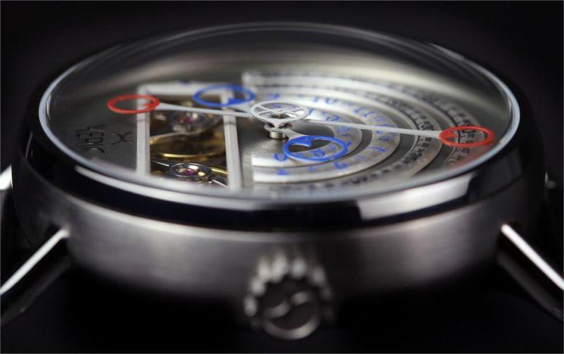Xeric Halograph Automatic : le temps autrement