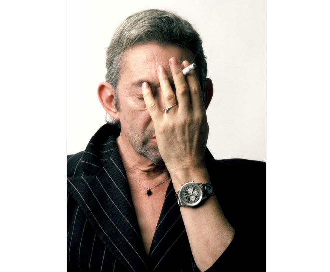 Breitling : partenaire d'une exposition photo sur Gainsbourg