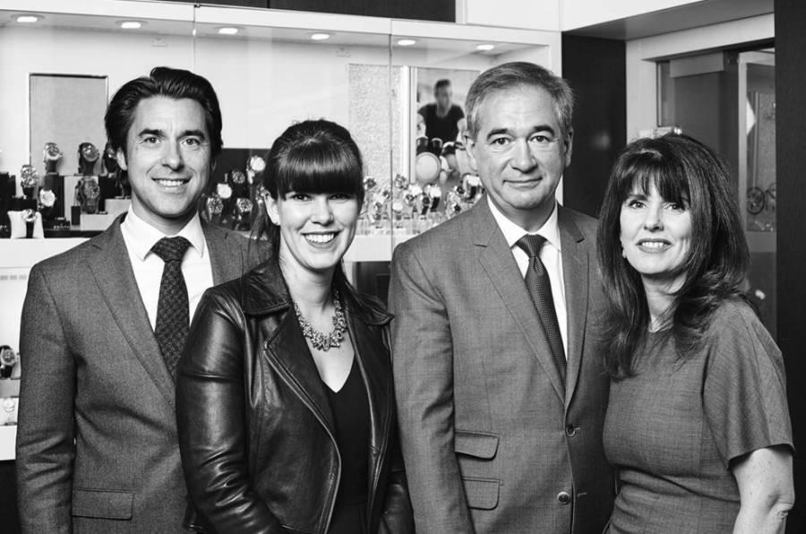 Les Lassaussois : Arnaud, Pauline, Jean et Catherine