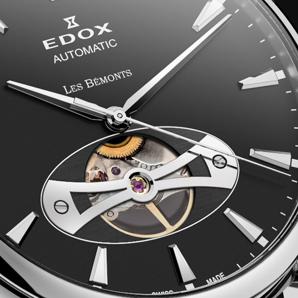 Edox Automatic Open Heart Les Bémonts