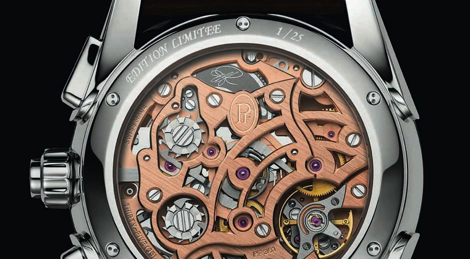Tonda Chronor Anniversaire : calibre en or pour le 1er chrono intégré de PF