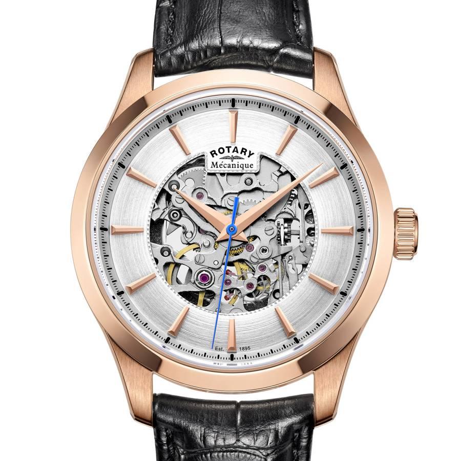 Rotary : jolie montre mécanique d'entrée de gamme