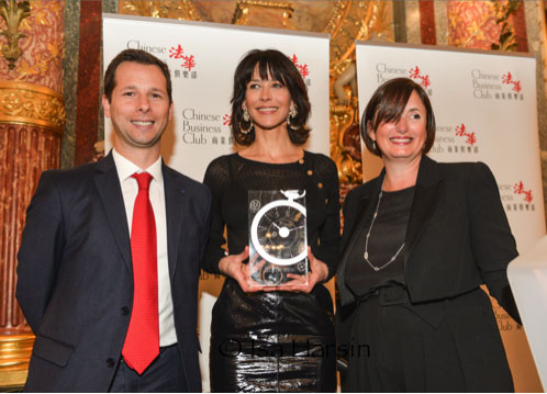 Bucherer : le prix de la Femme de l'année à Sophie Marceau