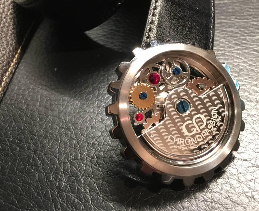 TF Est. 1968 : ceinture horlogère en série limitée pour Chronopassion