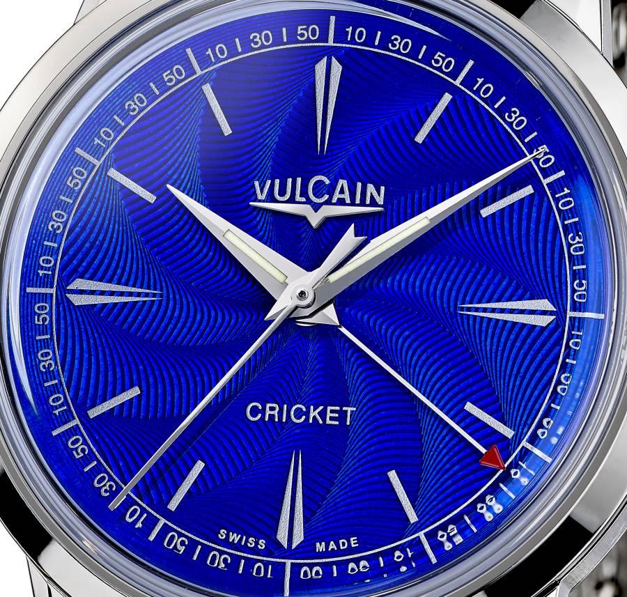 Vulcain 50s Presidents : quand le bleu électrise le poignet