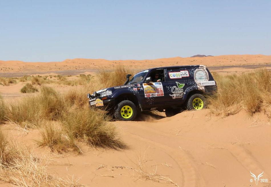 Saint Honoré : victoire au Rallye Aïcha des Gazelles 2016