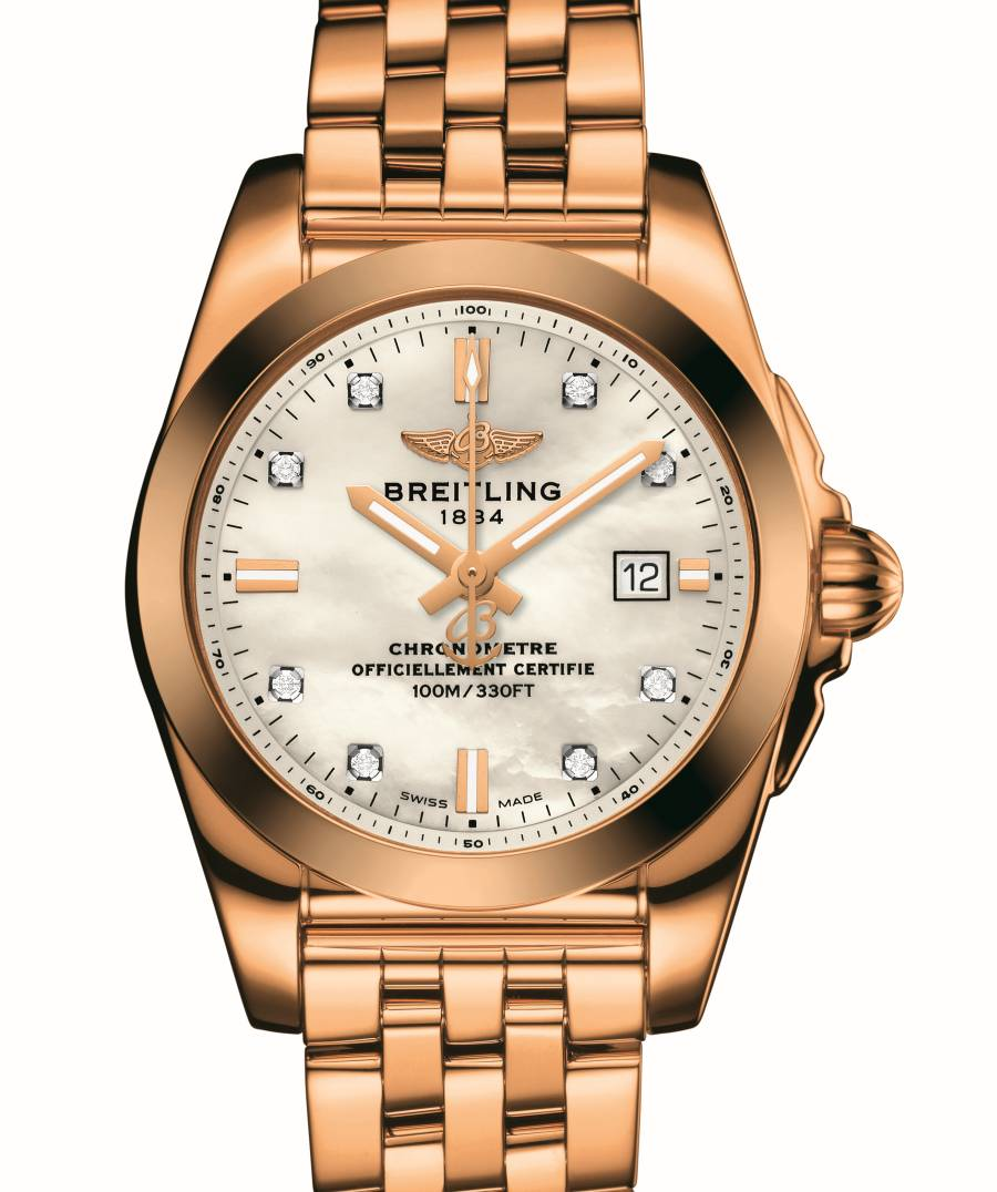 Breitling Galactic 29 or rose