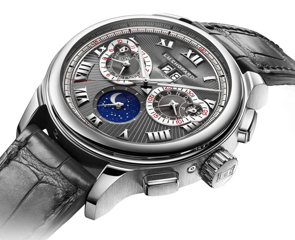 Chopard LUC Perpetual Chrono en or gris Fairmined