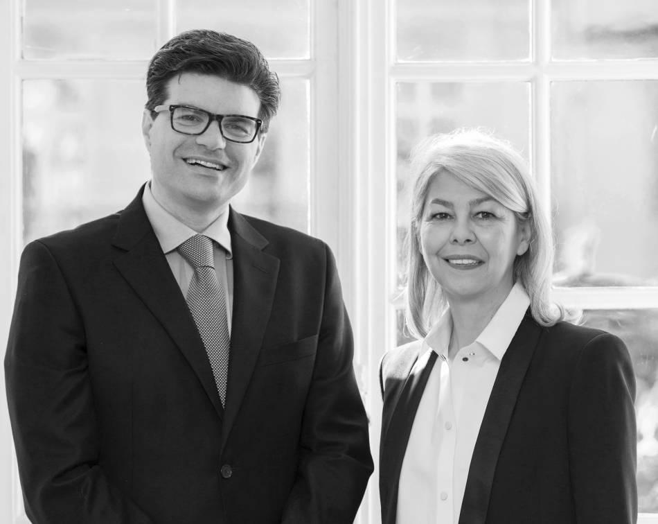 Geoffroy Ader et Marie Sanna-Legrand