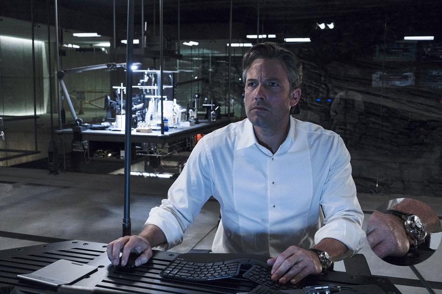 Batman v Superman, l'aube de la justice : Ben Affleck porte une Breguet Tradition