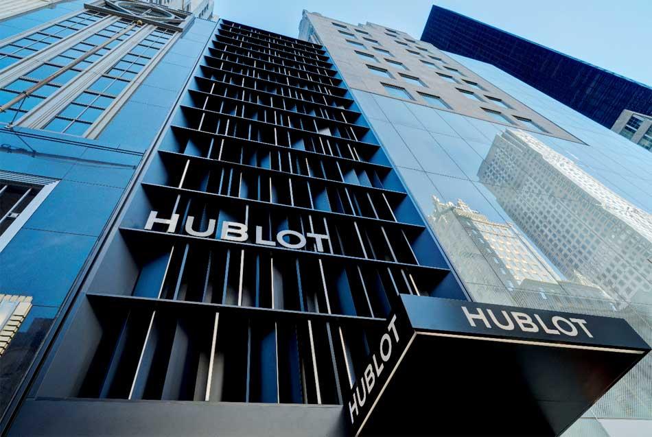 Hublot ouvre à New York sa plus grande boutique américaine