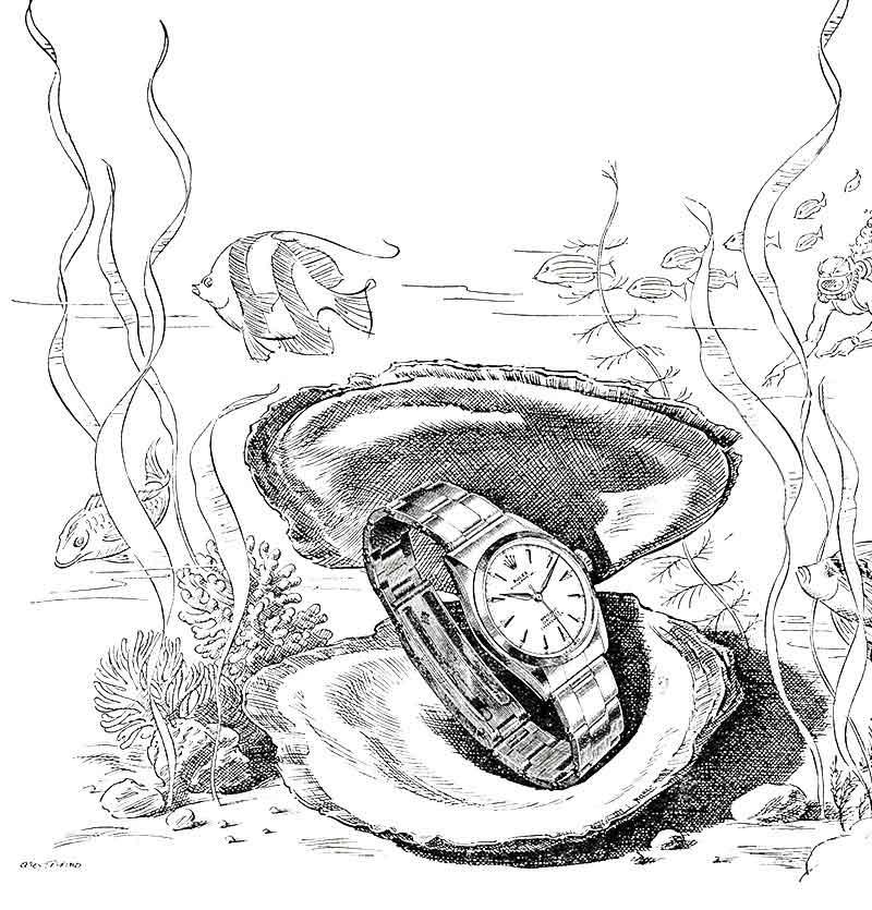 L'épopée de la Rolex Oyster (partie 1)