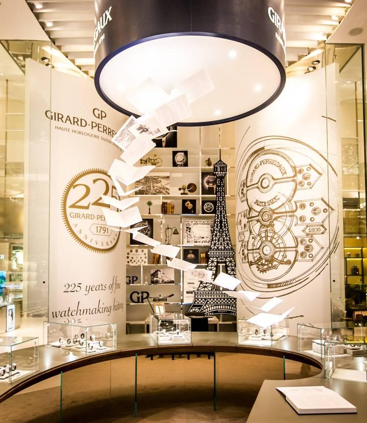Girard-Perregaux s'expose au Printemps du Louvre à Paris