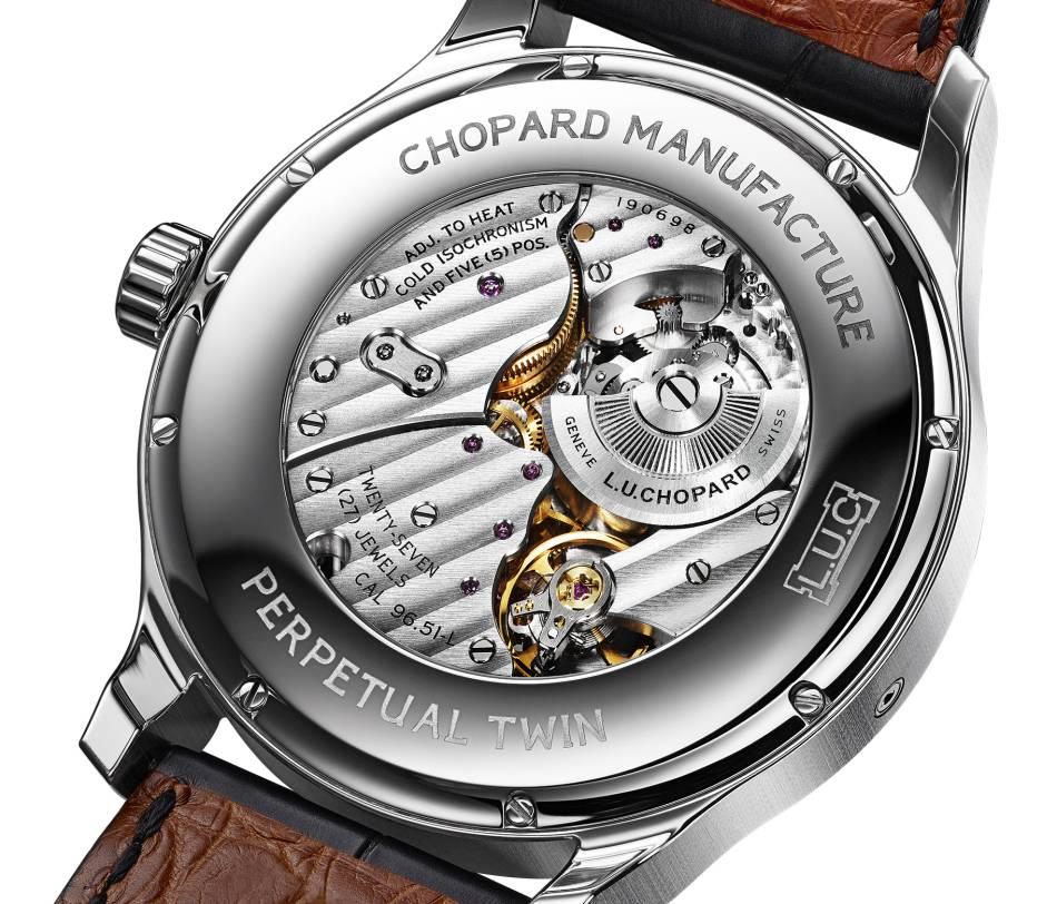 Chopard L.U.C. Perpetual Twin : QP acier