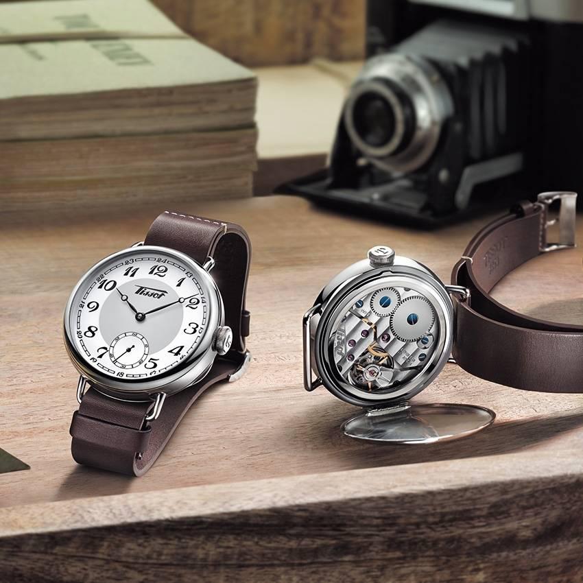 Tissot Heritage 1936 : hommage aux premières montres de poignet