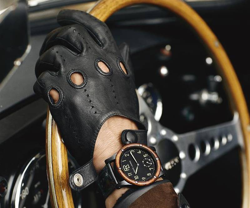 The Ralph Lauren RL Automotive 39 mm in a Bugatti