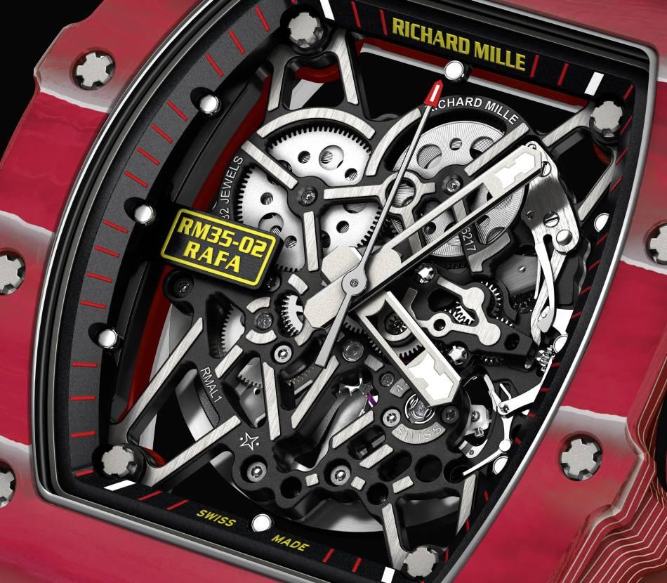 Richard Mille RM 35-02 : la nouvelle montre de Rafa
