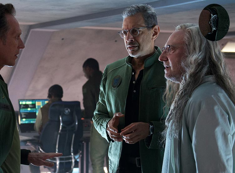 Independence Day, Resurgence : Jeff Goldblum porte une Hamilton Jazzmaster GMT