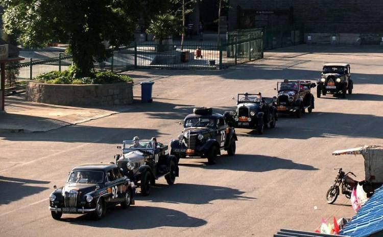 Frédérique Constant : chronométreur officiel du Rallye Pékin-Paris