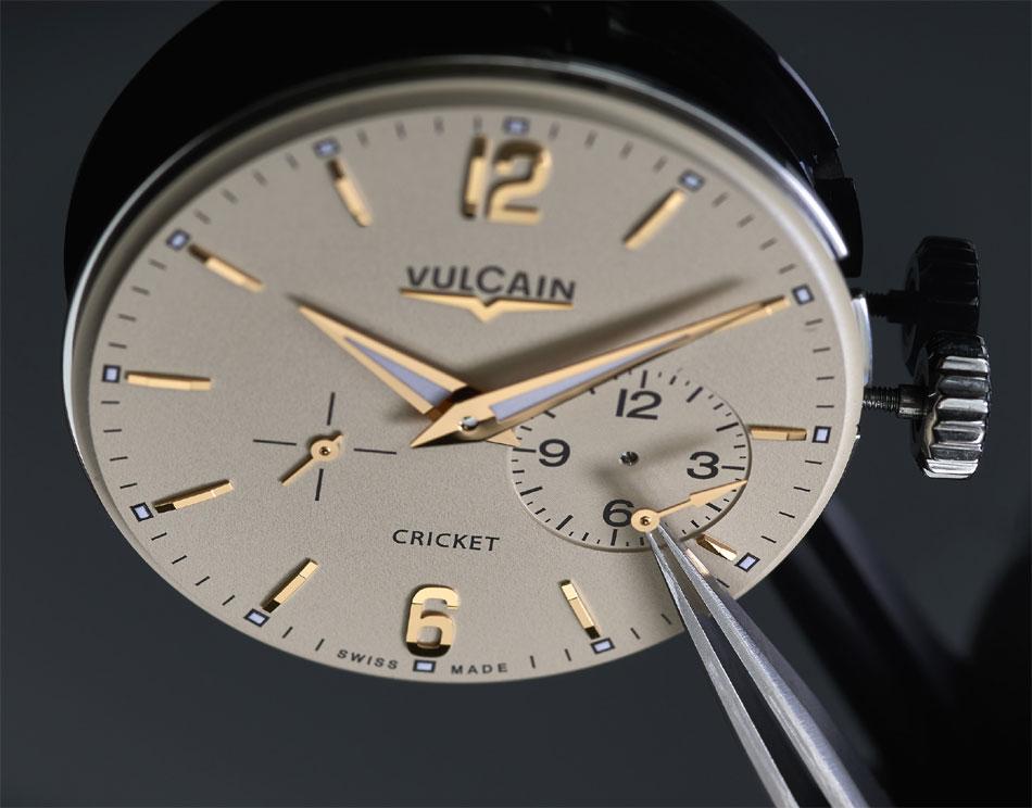 Vulcain repense son calibre V-40