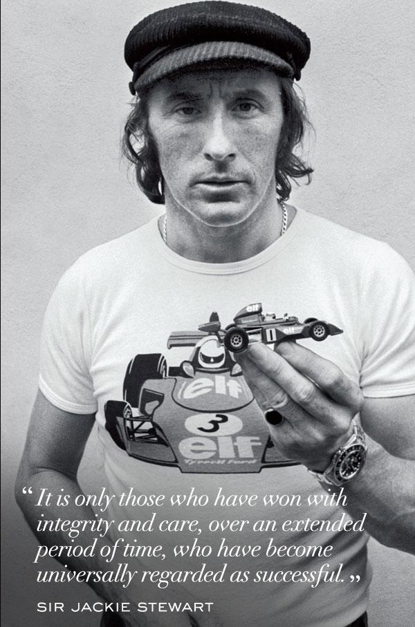 Jackie Stewart : un témoignage Rolex de légende à Monaco