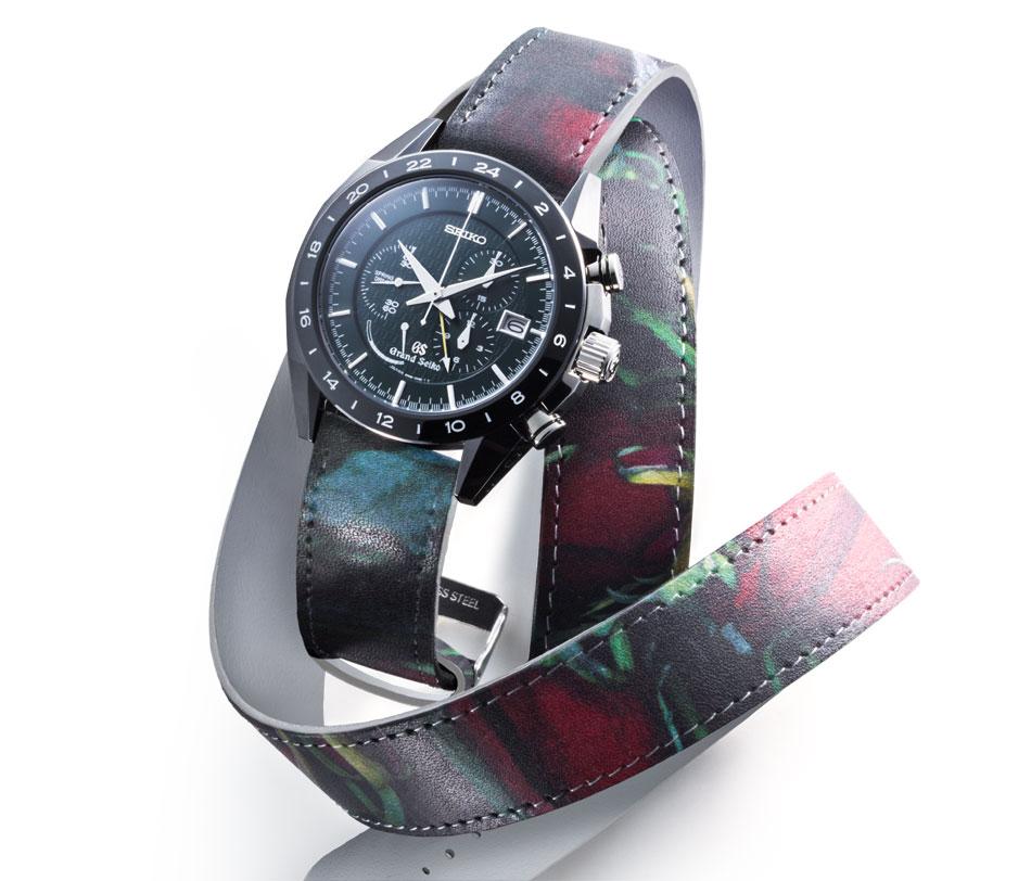 """Des bracelets """"arty"""" chez Seiko cette année"""