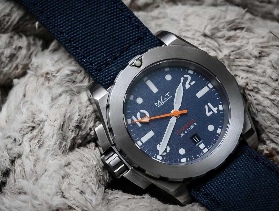 MAT Watches AG6 Mer : la montre idéale pour l'été 2016