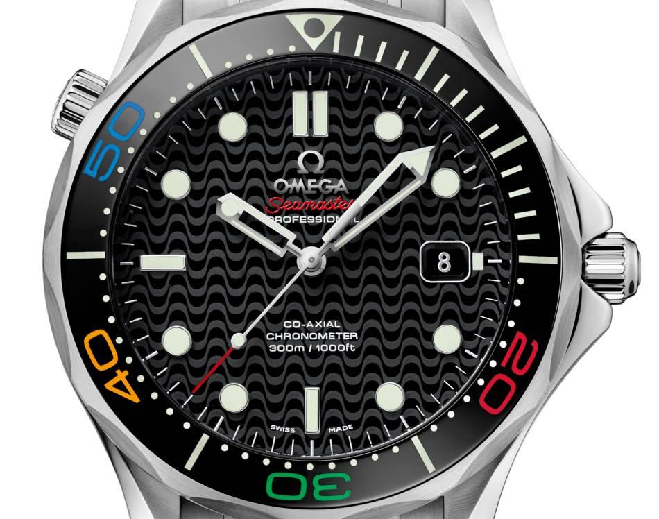 """Omega Seamaster Diver 300M """"Rio 2016"""" édition limitée"""