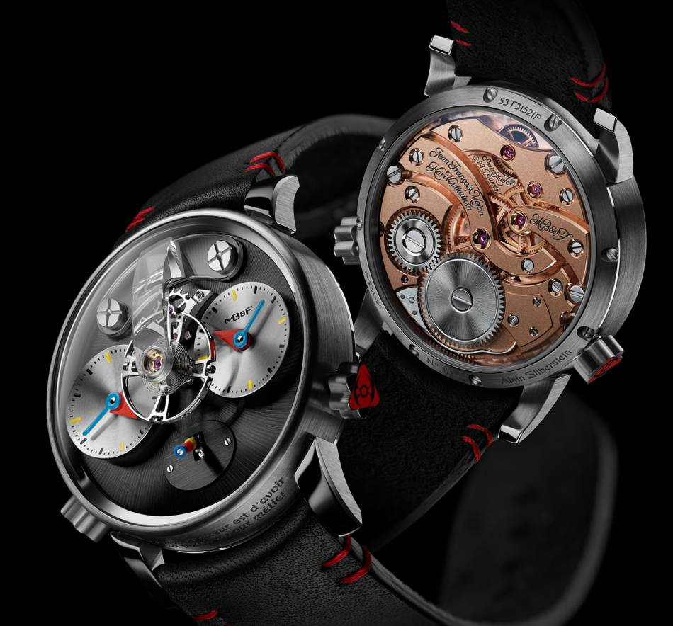 MB&F LM1 Silberstein : le temps ludique