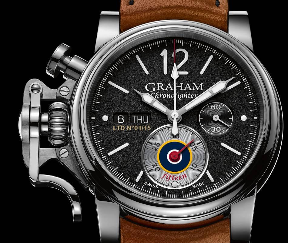 Graham célèbre les 15 ans du Chronofighter