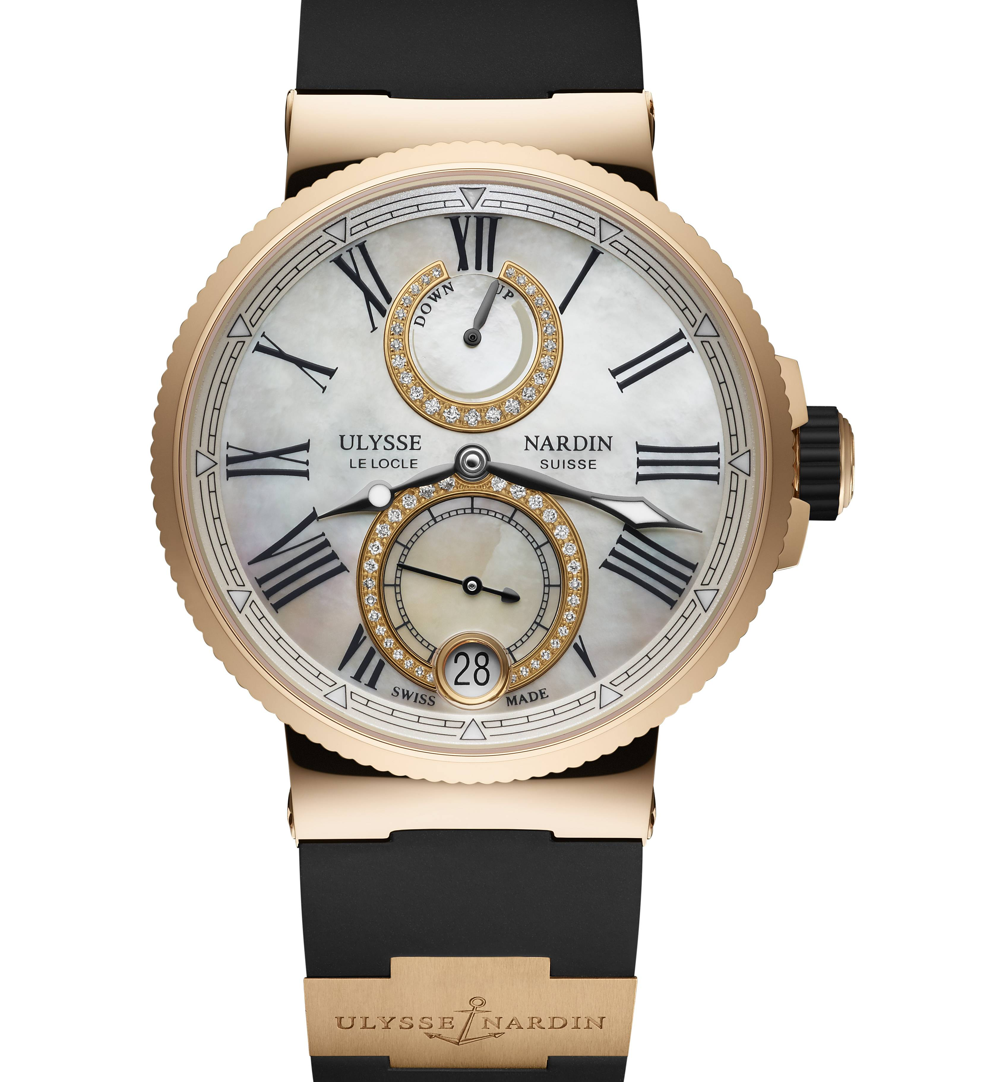 Ulysse Nardin Lady Marine Chronometer cadran nacre