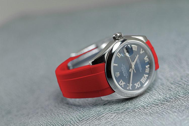 """RubberB : nouveaux straps pour Rolex """"medium"""""""