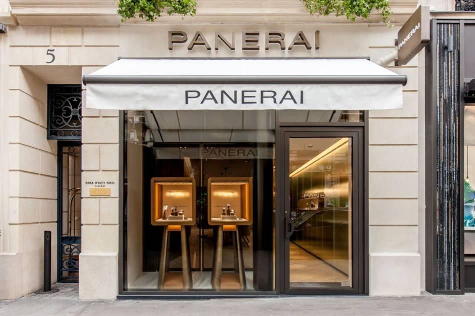 Panerai : ré-ouverture de la boutique de la rue de la Paix