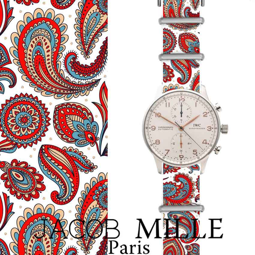 Jacob Mille : une collection de Nato à motifs
