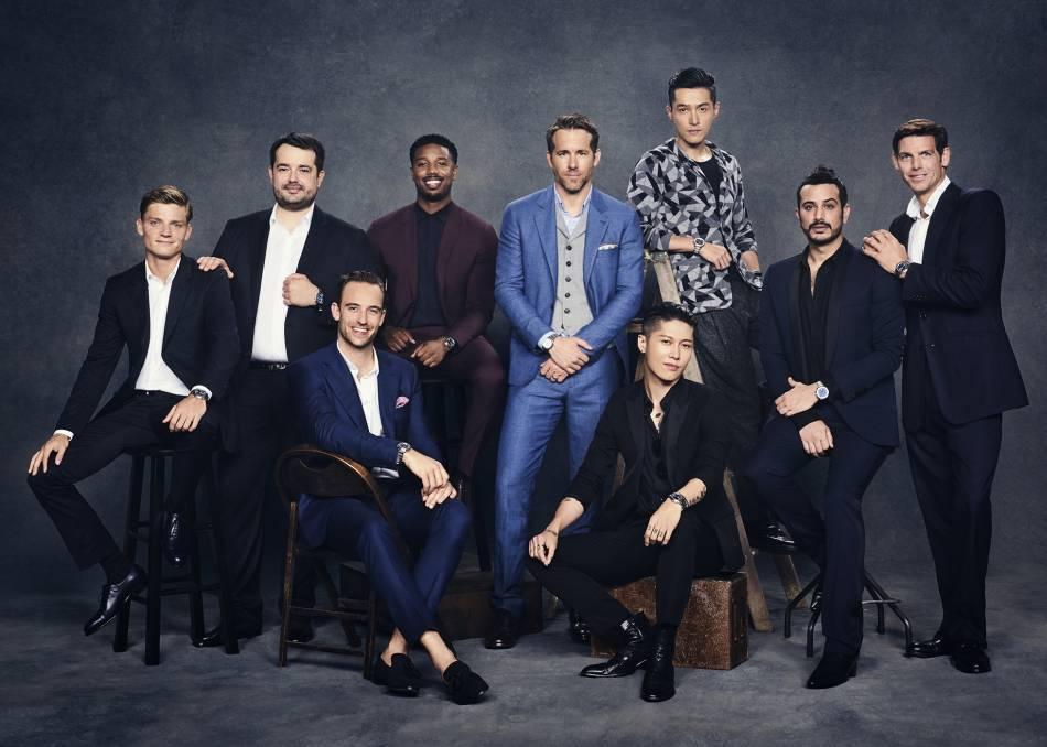 Piaget : neuf hommes et la Polo S
